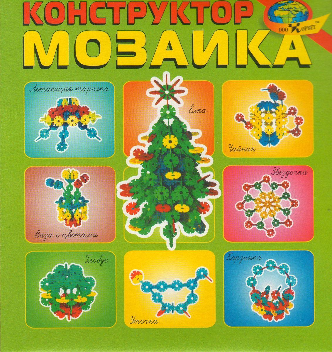 Корвет Обучающая игра Конструктор Мозаика4680000430333Игра состоит из круглых плоских фигур с прорезями для соединения. Фигуры четырех цветов в количестве 80 штук по 20 каждого цвета. Наши конструкторы - это занимательные развивающие игры на восприятие цвета, формы, и величины у детей, начиная в раннего возраста. Развивают комбинаторные способности и пространственное воображение.