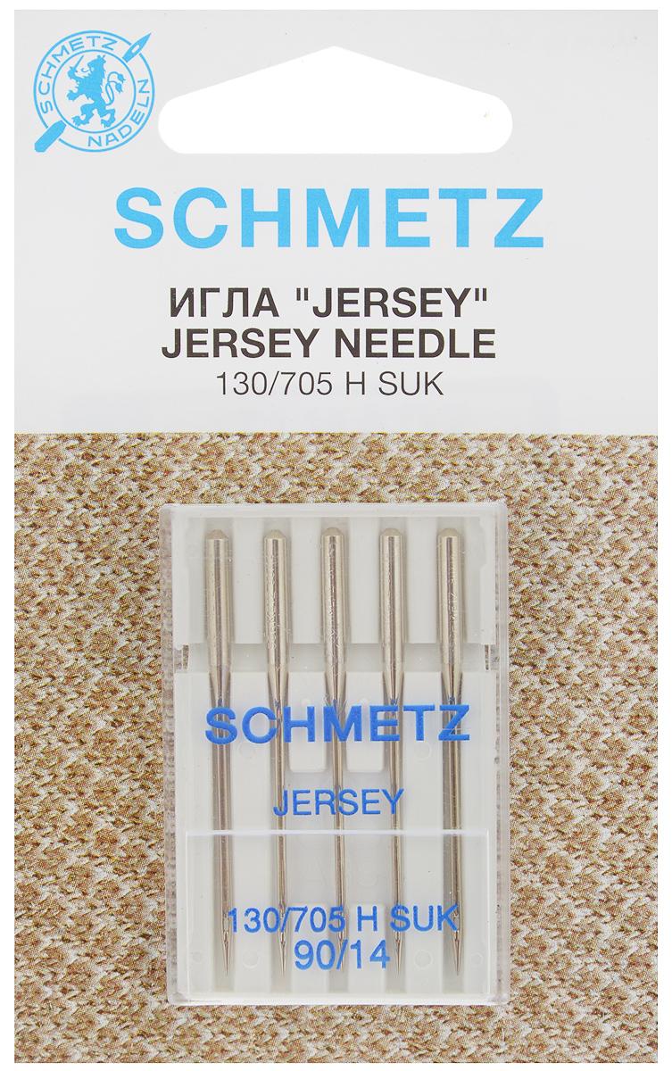 Набор игл Schmetz Jersey, №90, 5 шт22:15.FB2.VDSНабор Schmetz Jersey состоит из пяти игл для бытовых швейных машин. Иглы имеют среднее шарообразное острие. Предназначены для вязаных изделий и трикотажа. Комплектация: 5 шт. Размер игл: №90. Стандарт: 130/705 H SUK.
