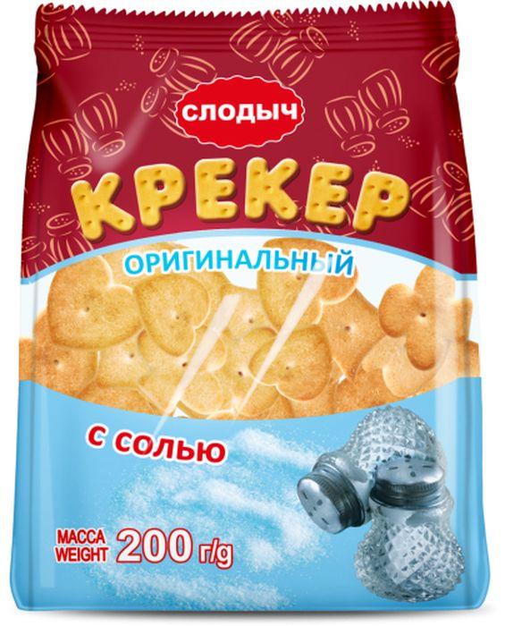 Слодыч Оригинальный крекер с солью, 200 г ( 574 )