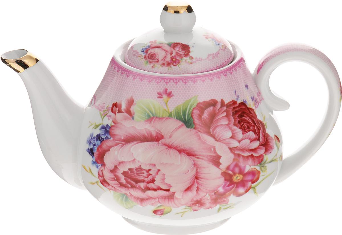 """Чайник заварочный Loraine """"Розы"""", 1 л. 24559"""
