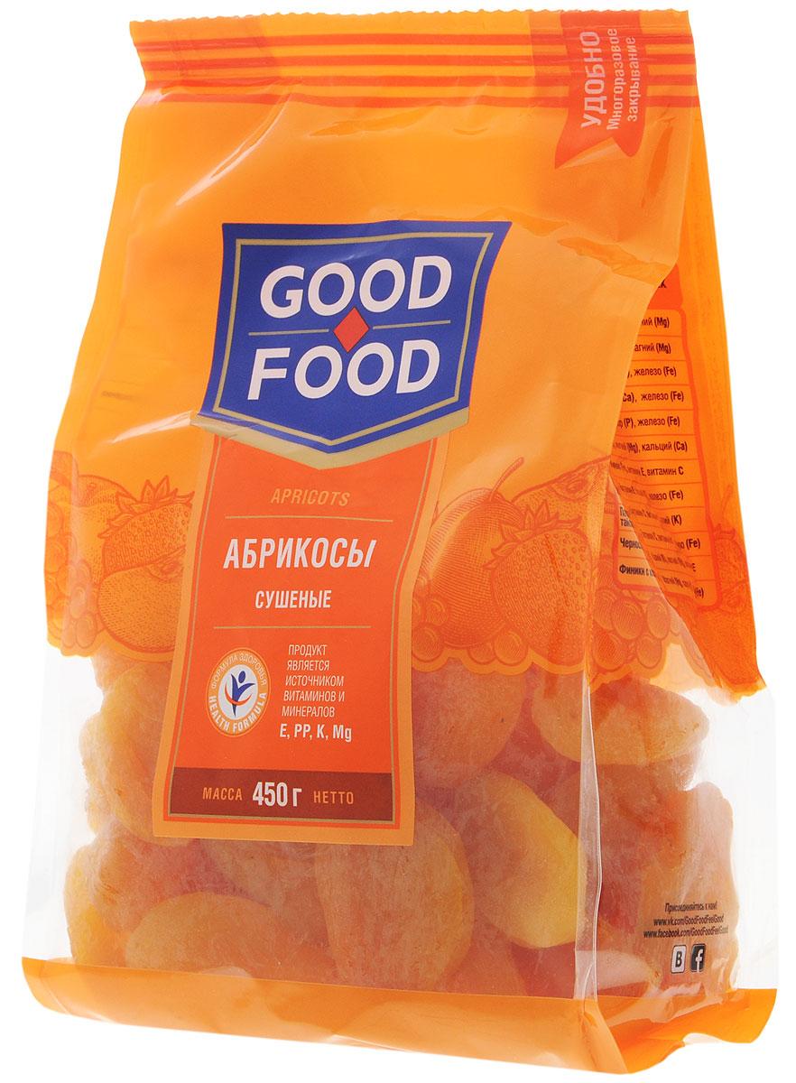 Good Food абрикосы сушеные, 450 г