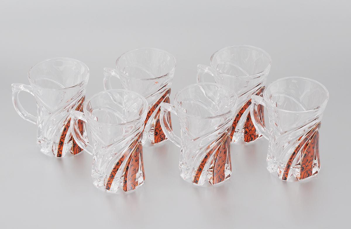 Набор стаканов Loraine, 160 мл, 6 шт. 33063306Набор Loraine состоит из 6 стаканов, выполненных из высококачественного стекла. Изделия декорированы изысканным рельефом и оригинальным орнаментом. Благодаря такому набору пить напитки будет еще вкуснее. Набор стаканов Loraine станет также отличным подарком на любой праздник. Подходит для горячих и холодных напитков. Не рекомендуется мыть в посудомоечной машине. Диаметр стакана (по верхнему краю): 7 см. Высота стакана: 9 см.