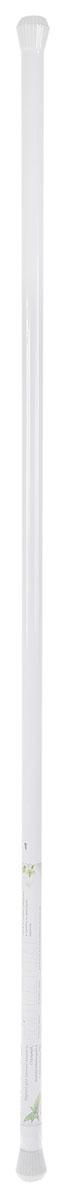 Карниз для ванной комнаты Duschy, выкручивающийся, цвет: белый, 130-240 см650-10Карниз для ванной комнаты Duschy, изготовленный из алюминия с эпоксидным антикоррозийным покрытием, это не только аксессуар для штор, но и элемент декора. Карниз телескопический, он регулируется по длине и раздвигается до максимальной длины 240 см. Пластиковые наконечники защитят стены от повреждений. Оригинальный и изысканный карниз стильно дополнит интерьер вашей ванной комнаты. Надежно крепится между стенами в распор без использования крепежных элементов, не скользит и не требует специальных инструментов для установки. Диаметр карниза: 25 мм.