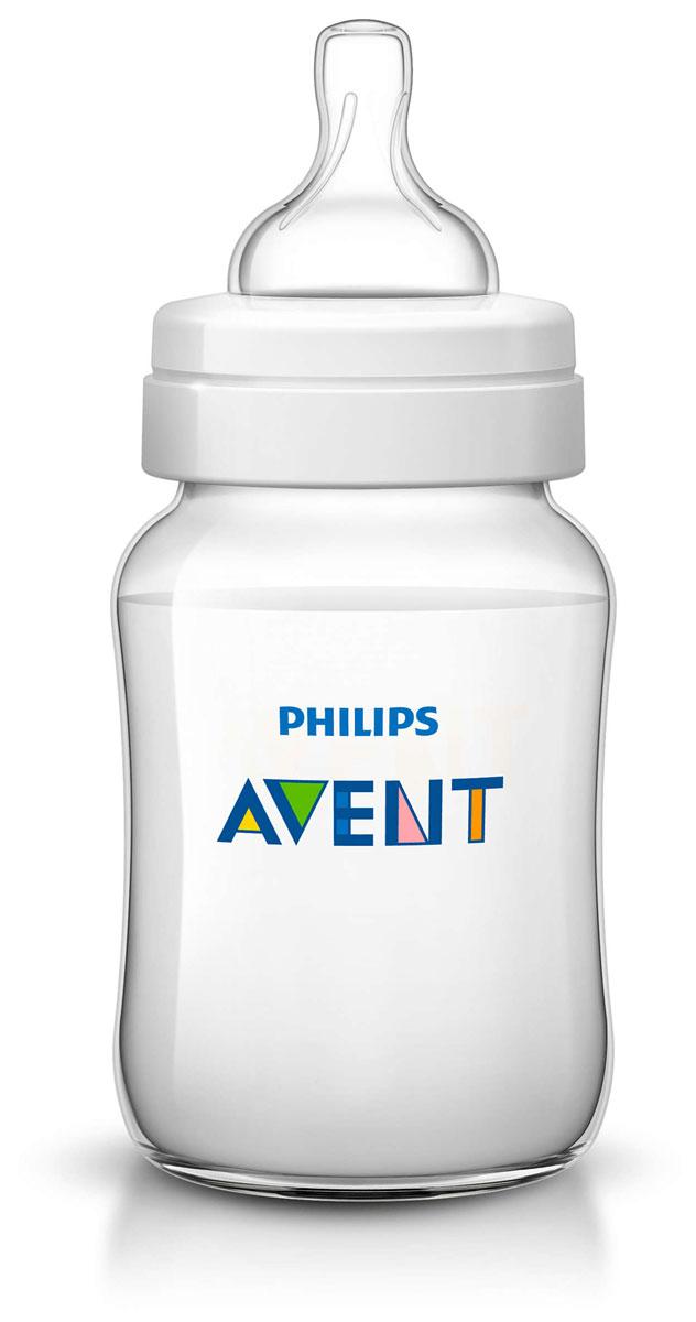 """Philips Avent Бутылочка для кормления """"Classic"""" от 1 месяца 260 мл SCF563/17"""