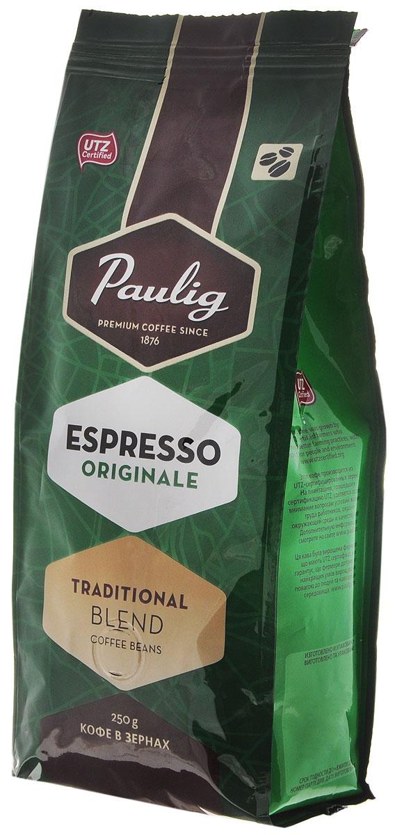 Paulig Espresso Originale кофе в зернах, 250 г16495Кофе в зернах Paulig Espresso Originale - это высококачественный кофе итальянского типа с нежным и в тоже время крепким вкусом для приготовления эспрессо. Изготовлен из сладких бразильских и отборных центрально американских сортов. Эспрессо имеет повышенную плотность и насыщенность.