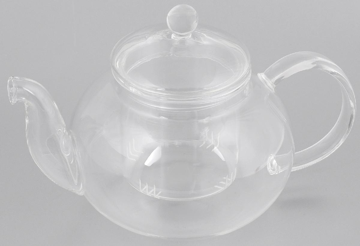 Чайник заварочный Mayer & Boch, 1 л. 2494024940Заварочный чайник Mayer & Boch изготовлен из термостойкого боросиликатного стекла - прочного износостойкого материала. Изделие оснащено фильтром и крышкой, выполненной из стекла. Простой и удобный чайник поможет вам приготовить крепкий, ароматный чай. Дизайн изделия впишется в интерьер любой кухни. Можно мыть в посудомоечной машине. Не использовать в микроволновой печи. Диаметр (по верхнему краю): 8,5 см. Высота (с учетом крышки: 14 см.
