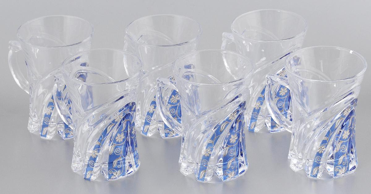 Набор стаканов Loraine, 145 мл, 6 шт. 2275222752Набор Loraine состоит из 6 стаканов, выполненных из высококачественного стекла. Изделия декорированы изысканным рельефом и оригинальным орнаментом. Благодаря такому набору пить напитки будет еще вкуснее. Набор стаканов Loraine станет также отличным подарком на любой праздник. Подходит для горячих и холодных напитков. Не рекомендуется мыть в посудомоечной машине. Диаметр стакана (по верхнему краю): 6,5 см. Высота стакана: 9,5 см.