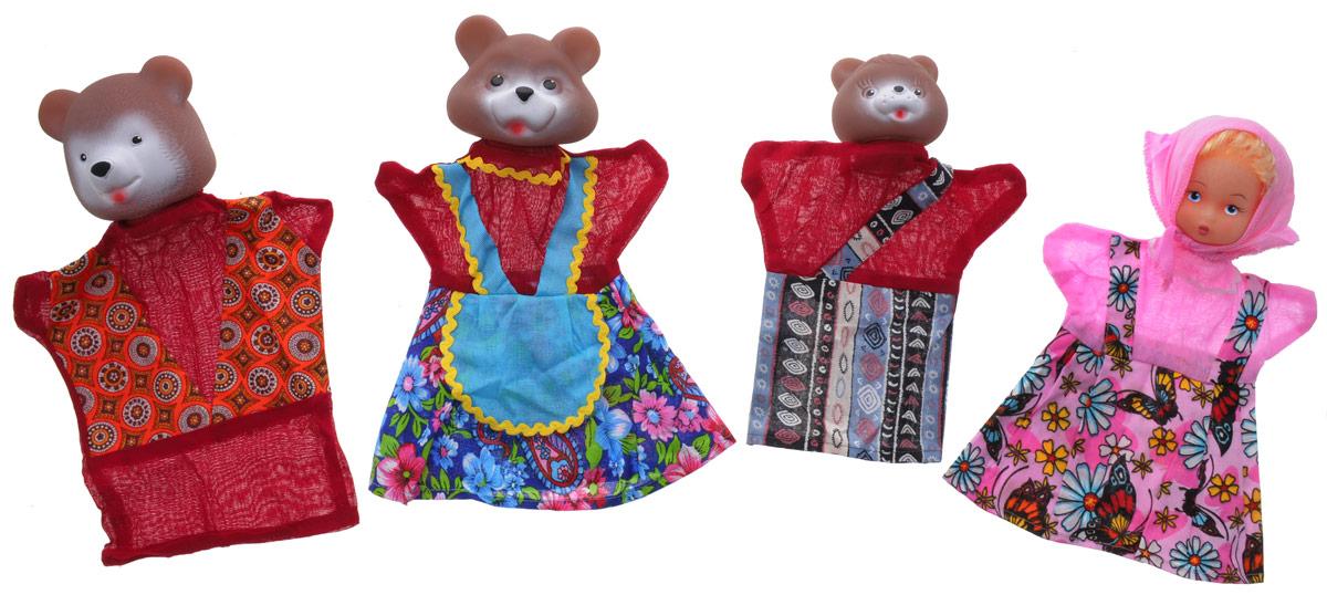 Русский стиль Кукольный театр Три медведя11064Почему бы не устроить представление у себя дома, используя куклы-перчатки? С кукольным театром Русский стиль Три медведя малыш сможет быть не только зрителем, но и участником представления с собственным сюжетом. Набор состоит из четырех куколок, которые одеваются на руку. Головы кукол выполнены из ПВХ, а туловища и руки из текстиля, у каждого героя свой очень красивый наряд. Куклы обладают высокой степенью прочности и безопасности и могут использоваться для игры даже с самыми маленькими детками. Кукольный театр развивает ребенка и делает его более яркой, гармоничной личностью. Ведь в театральных постановках малыш может реализовать свои творческие и актерские таланты, научится красиво говорить и двигаться, улучшит моторику рук и координацию движений. А какое огромное количество позитивных эмоций дарит театр.