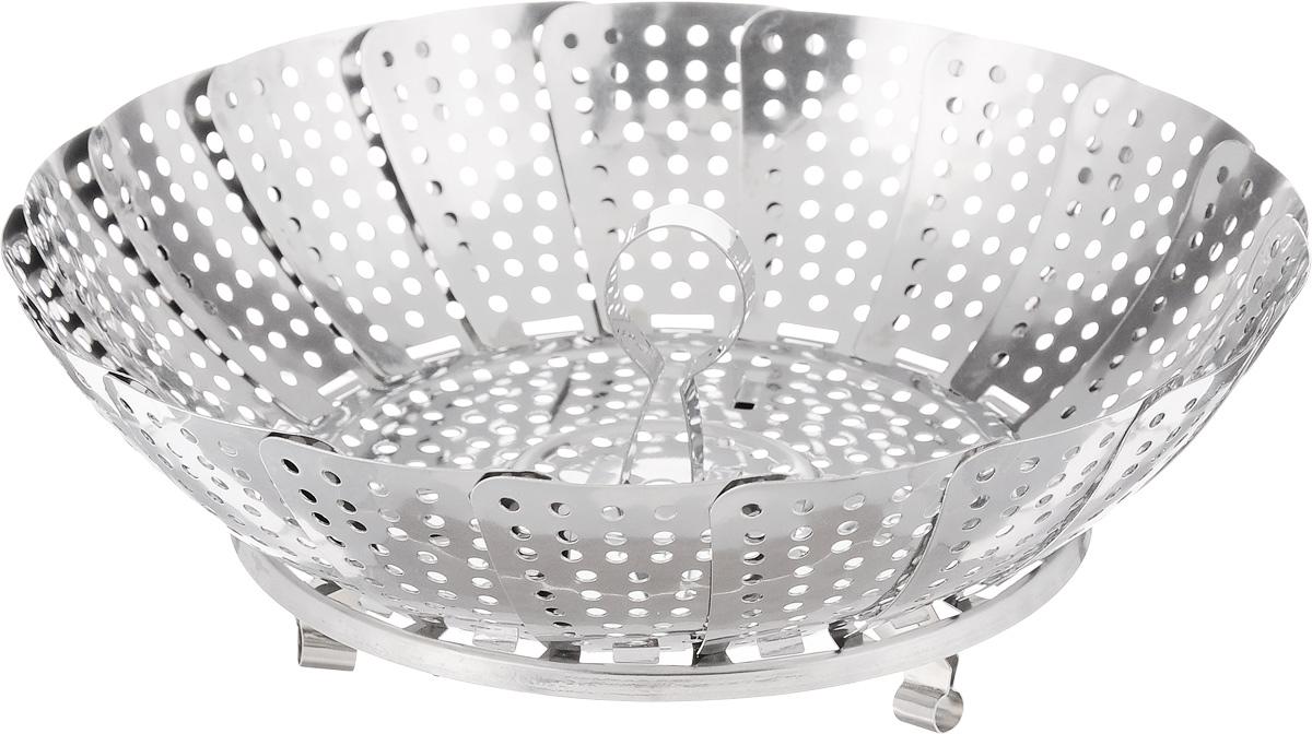 Пароварка Mayer & Boch, диаметр 23 см. 2131821318Пароварка Mayer & Boch выполнена из высококачественной нержавеющей стали и предназначена для готовки на пару и разогрева. Благодаря материалу пароварка не ржавеет, на ней не образуются пятна. Можно мыть в посудомоечной машине. Диаметр: 23 см. Толщина стенок: 0,4 мм.