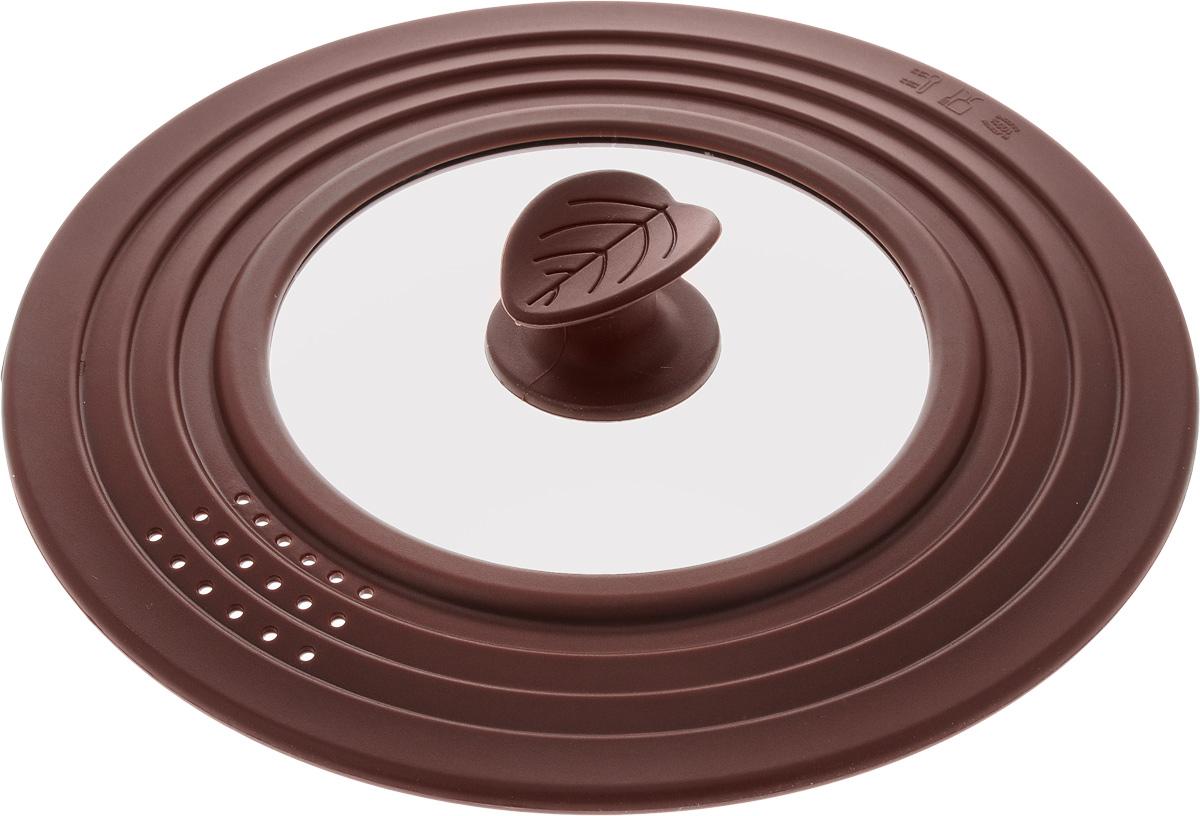 Крышка универсальная Mayer & Boch, диаметр 22-24-26 см24631Универсальная крышка Mayer & Boch выполнена из первоклассного жаропрочного силикона, нейлона и стекла. Изделие выдерживает температуру от -40 до +230°С. Крышка предназначена для закрывания всей стандартной посуды с плоскими краями, особенно мисок и кастрюль, с диаметром меньшим, чем диаметр самой крышки. Изделие оснащено антипригарным покрытием. Можно использовать для металлической, стеклянной, керамической и пластмассовой посуды. Крышка подходит для использования во всех видах духовок, микроволновой печи и холодильников. Можно мыть в посудомоечной машине. Диаметр крышки: 22 см, 24 см, 26 см.