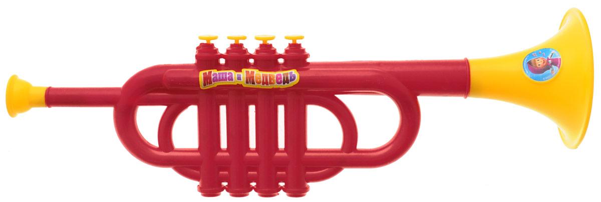 Играем вместе Труба Маша и Медведь цвет красныйB355931-R2_красный, желтыйЯркая музыкальная игрушка Играем вместе Маша и Медведь выполнена из безопасного пластика в виде трубы, оформленной изображением героев мультфильма Маша и Медведь. На ее корпусе расположены 4 кнопки. Труба Играем вместе Маша и Медведь способствует развитию у ребенка музыкальных способностей, а также цветового и звукового восприятия, мелкой моторики рук и воображения.
