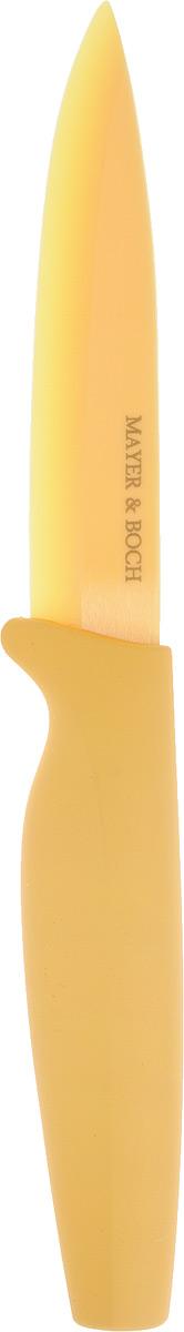 """Нож универсальный """"Mayer & Boch"""", керамический, цвет: желтый. 22655"""