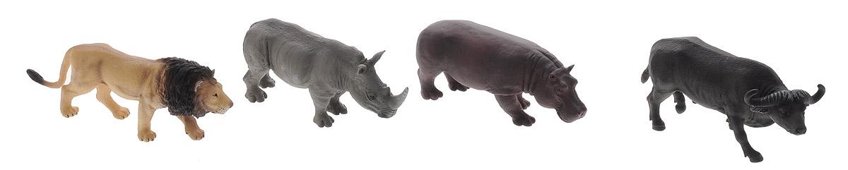 Mojo Набор фигурок Африка 4 шт387313С набором фигурок Mojo Африка ваш расширит кругозор и узнает, как выглядят некоторые обитатели Африки: лев, носорог, бегемот и буйвол. Каждая фигурка выполнена очень тщательно и отражает внешность животного в его естественной среде обитания. Во время игры ребенок сможет развить фантазию, воплощая в жизнь интересные сюжеты из мира дикой природы. Порадуйте свое драгоценное чадо столь интересным, занимательным и развлекательным подарком.