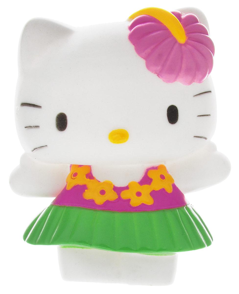 Играем вместе Игрушка для ванной Hello Kitty цвет белый зеленый розовый42R_белый зеленый розовыйИгрушка для ванной Играем вместе Hello Kitty понравится вашей малышке и развлечет ее во время купания. Она выполнена из безопасного материала в виде популярной кошечки. Размер игрушки идеален для маленьких ручек малыша. Если сжать ее во время купания в ванной, игрушка начинает брызгаться водой, а при нажатии раздается забавный писк. Игрушка способствует развитию воображения, цветового восприятия, тактильных ощущений и мелкой моторики рук.