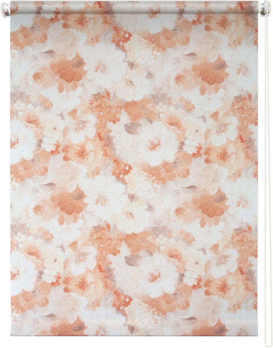 Штора рулонная Уют Пионы, цвет: бежевый, 60 х 175 см62.РШТО.8940.060х175Штора рулонная Уют Пионы выполнена из прочного полиэстера с обработкой специальным составом, отталкивающим пыль. Ткань не выцветает, обладает отличной цветоустойчивостью и светонепроницаемостью. Штора закрывает не весь оконный проем, а непосредственно само стекло и может фиксироваться в любом положении. Она быстро убирается и надежно защищает от посторонних взглядов. Компактность помогает сэкономить пространство. Универсальная конструкция позволяет крепить штору на раму без сверления, также можно монтировать на стену, потолок, створки, в проем, ниши, на деревянные или пластиковые рамы. В комплект входят регулируемые установочные кронштейны и набор для боковой фиксации шторы. Возможна установка с управлением цепочкой как справа, так и слева. Изделие при желании можно самостоятельно уменьшить. Такая штора станет прекрасным элементом декора окна и гармонично впишется в интерьер любого помещения.