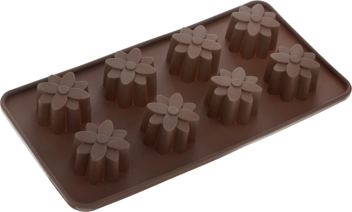 Форма Mayer&Boch Choco freeze, для 8 шоколадных конфет, силиконовая20192Форма Mayer&Boch Choco freeze изготовлена из высококачественного жаропрочного силикона. Подходит для температур от 40 до 230 °С. Выпечка легко вынимается и не пригорает. Формы легко моются и их удобно хранить в сложенном виде. Длина формы: 21,5 см. Ширина формы: 10,8 см.