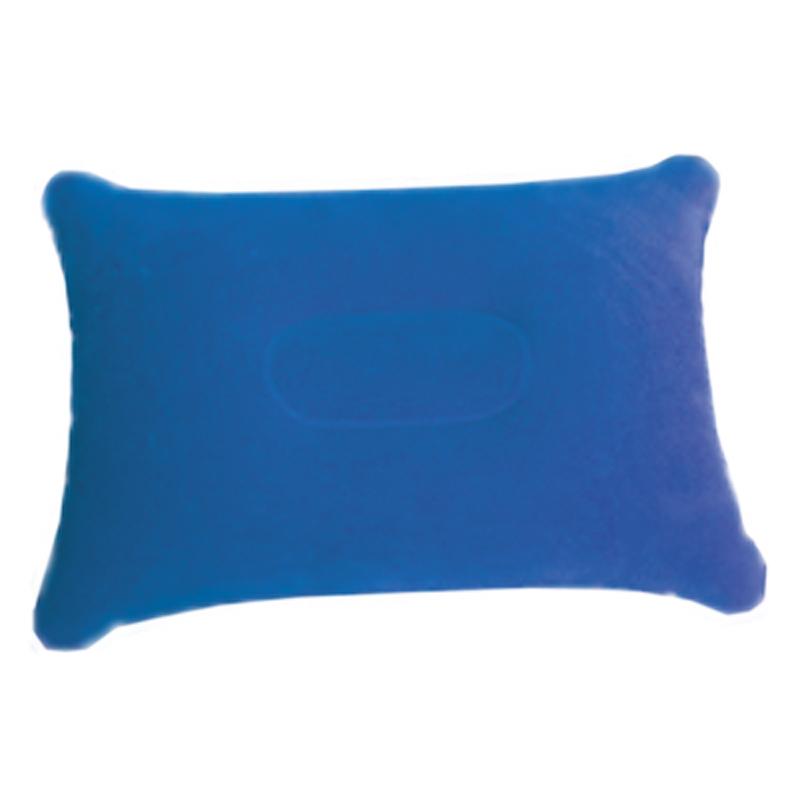 Подушка надувная Sol под голову, цвет: синий. SLI-013