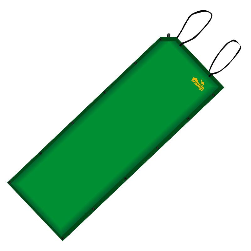 Коврик самонадувающийся Tramp, цвет:зеленый, 188х66х5см. TRI-004