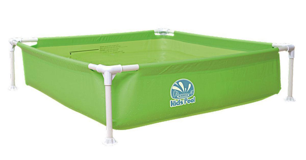 Бассейн каркасный Jilong Kids Frame Pool, цвет: зеленый, 122 х 122 x 33 смJL017256NPFV01_зеленыйБассейн каркасный детский квадратный KIDS FRAME POOL Для использования на даче и природе - Размер в рабочем состоянии: 122х122x33 см - Объем - 399 литров - Прочная стальная рама с пластиковыми угловыми соединениями - Рама в комплекте - Легкая сборка - Очень прочный 3-х слойный материал - Легко складывается - Компактно упаковывается - В сложенном состоянии не занимает много места - Самоклеящаяся заплатка в комплекте Артикул:JL017256NPFV01 Упаковка: картон Размер упаковки,см: Вес: 3,0 кг Компания JILONG это широкий выбор продукции высокого качества и отличный выбор для отдыха на природе. Характеристики: Бренд: JILONG Производитель: Китай Упаковка: коробка Размер упаковки: см Размер бассейна: 122х122x33 см Объем: 399 литров Материал: усиленный ПВХ Цвет: в ассортименте Вес: 3,0кг Артикул:JL017256NPFV01