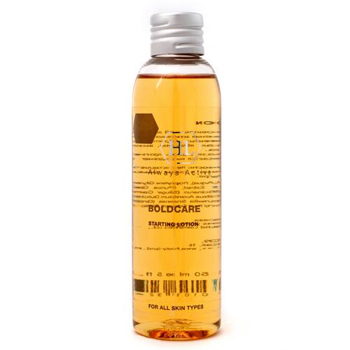 Holy Land Лосьон Boldcarе Starting Lotion 150 мл109024Специальный лосьон для обеспечения более глубокого проникновения активных ингредиентов. Дополнительно выравнивает и подтягивает кожу, уменьшает отечность. Активные компоненты: Смесь фруктовых кислот (молочная, гликолевая, лимонная, маликовая, тартаровая), экстракт зеленого чая, экстракт граната, аскорбиновая кислота (витамин С), ретинол.