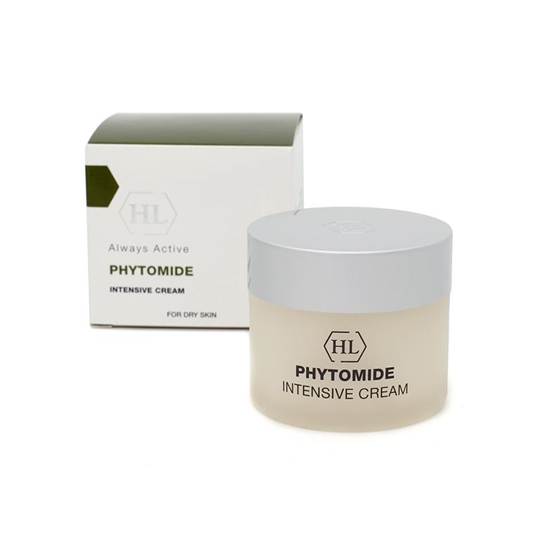 Holy Land Интенсивный крем Phytomide Intensive Cream 50 мл117067Насыщенный питательный крем для использования вечером и в часы отдыха. Быстро впитывается. Действие:Обеспечивает кожу необходимыми питательными компонентами. Ускоряет процессы регенерации. Смягчает кожу, повышает ее упругость и эластичность. Активные компоненты: оливковое масло, подсолнечное масло, экстракт хвоща полевого, экстракт хмеля, экстракт пшеницы, гидролизованный шелк, масло бурачника, аскорбил пальмитат (витамин С), комплекс Phytolene, сквален, масло сладкого миндаля, гликосфин-голипиды, фосфолипиды, холестерол, масло ореха макадамии, экстракт вечернего перво-цвета, арахидоновая, линолевая и линоленовая кислоты, токоферил ацетат (витамин Е), ретинил пальмитат (витамин А).