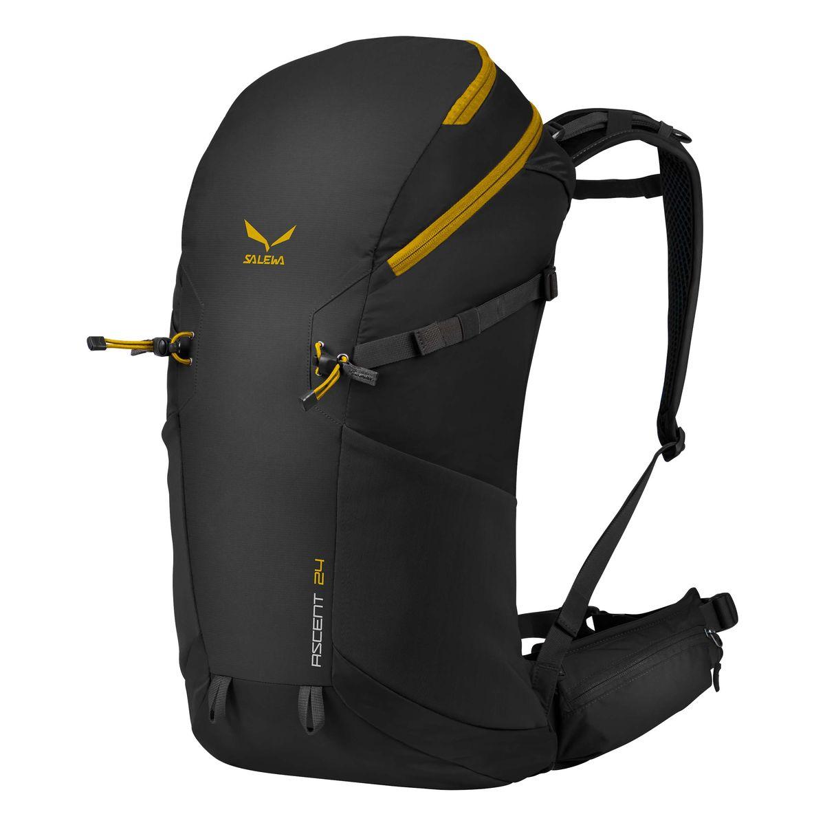 Рюкзак туристический Salewa Ascent 24, цвет: черный, 24л