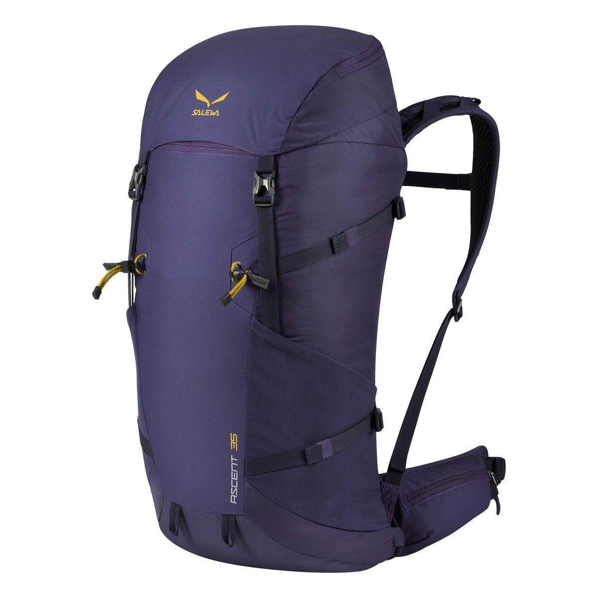Рюкзак туристический Salewa Ascent 35, цвет: синий, 35л
