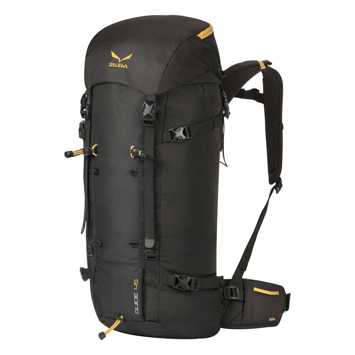 Рюкзак туристический Salewa Guide 45, цвет: черный, 45л