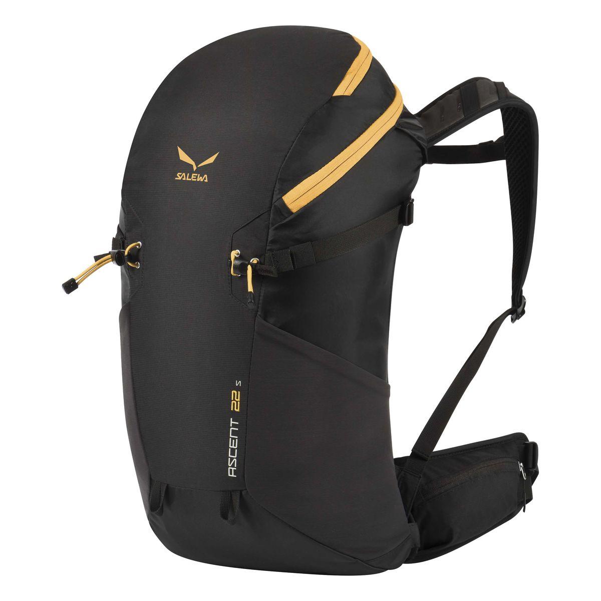 Рюкзак туристический Salewa Ascent 22s, цвет: черный, 22л