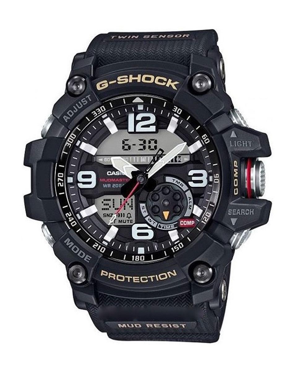 Часы наручные мужские Casio G-Shock, цвет: черный. GG-1000-1AGG-1000-1AУдаропрочность: Ударопрочная конструкция защищает от ударов и вибрации. 5 ежедневных будильников: Будильник напомнит Вам о повторяющихся событиях с помощью звукового сигнала, установленного Вами на определенное время. Вы также можете активировать почасовой сигнал времени, сообщающий о каждом полном часе. Эта модель имеет пять независимых будильников для оповещения о важных встречах. Функция повтора будильника: Каждый раз, когда Вы выключаете звуковой сигнал, он прозвучит повторно спустя несколько минут. 12/24-часовое отображение времени: Отображение времени можно в 12-часовом или 24-часовом формате. Ремешок из полимерного материала: Натуральный полимерный материал является идеальным для изготовления ремешка благодаря своей чрезвычайной прочности и гибкости. Неоновый дисплей: Светящееся покрытие обеспечивает длительную подсветку в темное время суток после короткого воздействия света. Функция мирового времени: Отображение текущего времени в основных городах и конкретных областях по...