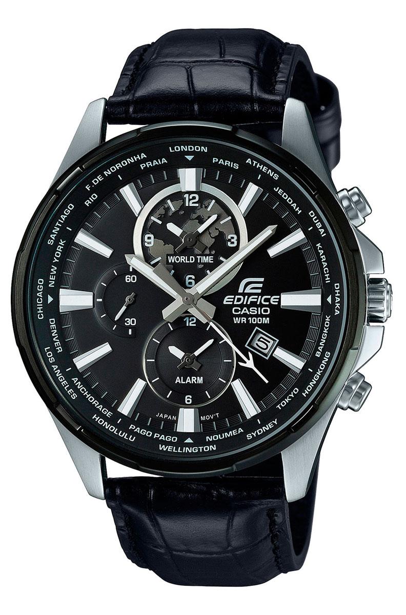 Наручные часы мужской Casio Edifice, цвет: черный. EFR-304BL-1AEFR-304BL-1A