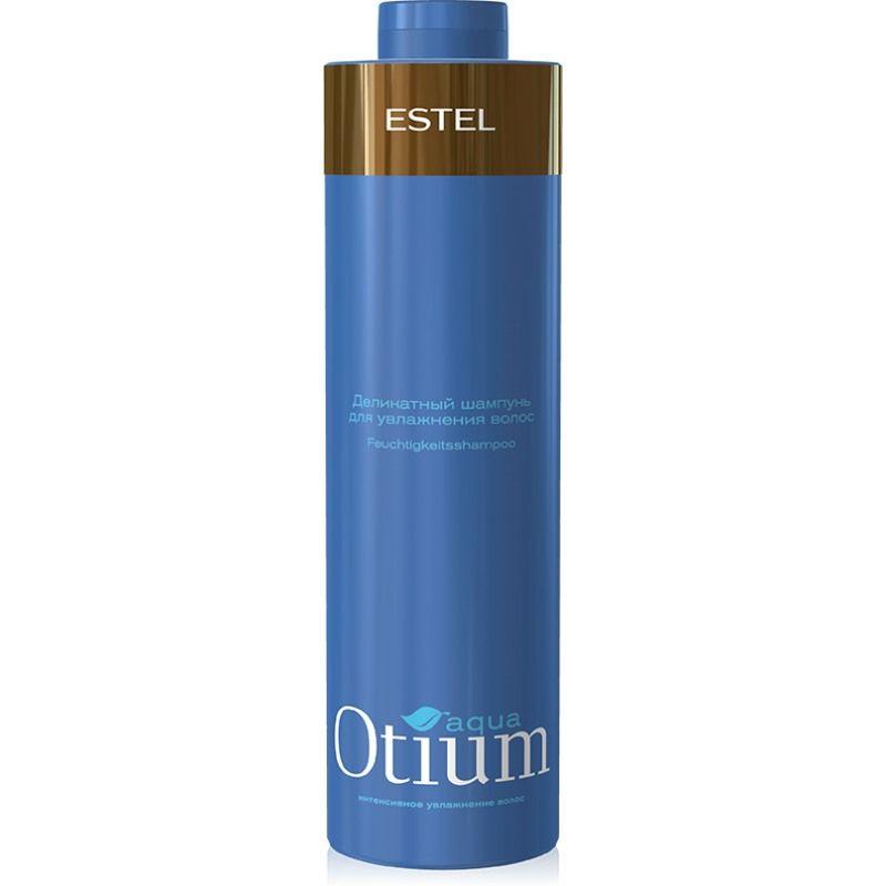 Estel Шампунь для волос увлажняющий (безсульфатный) Otium Aqua Mild 1000 млOT.121Estel Otium Aqua Mild - шампунь для волос увлажняющий бережно очищает волосы, подходит для ежедневного применения. Поддерживает естественный гидро - липидный баланс кожи головы, укрепляет структуру волос. Мощный увлажняющий комплекс True Aqua Balance с натуральным бетаином и аминокислотами улучшает состояние сухих, повреждённых волос, способствует удержанию влаги внутри волоса, не утяжеляя его. Делает волосы шелковистыми, здоровыми, придает мягкость и блеск. Обладает антистатическим эффектом. Не содержит лаурет сульфат натрия (новая современная тенденция в сегменте моющих средств по уходу за волосами и телом).