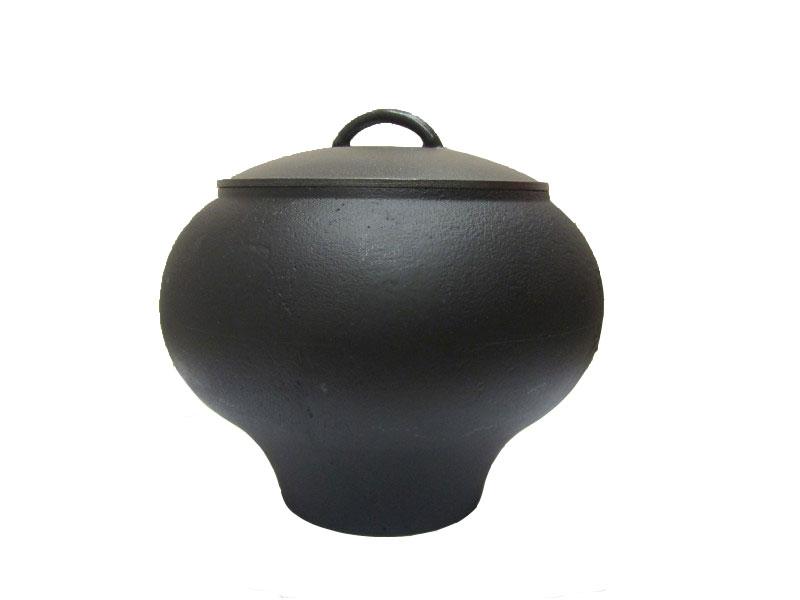 Горшок чугунный Балезино, 6 л, с алюминиевой крышкой.ЧГ161ЧГ161