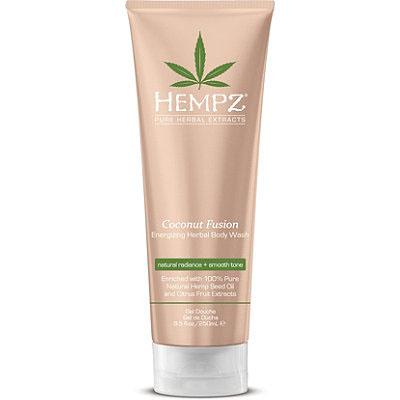 Hempz Гель для душа Бодрящий Кокос Coconut Fusion Energizing Herbal Body Wash 250 мл110-1271-03Этот восстанавливающая невысыхающая формула создает роскошную сливочную пену, которая бережно очищает и оздоравливает кожу, без сушки. Помогает усталой коже выглядеть более гладкой, мягкой и здоровой на вид. Мягко и бережно очищает, разглаживает, увлажняет и смягчает кожу, не нарушая гидро-липидный баланс. Масло и экстракт семян конопли мгновенно увлажняют, питают и восстанавливают естественный гидро-баланс кожи.