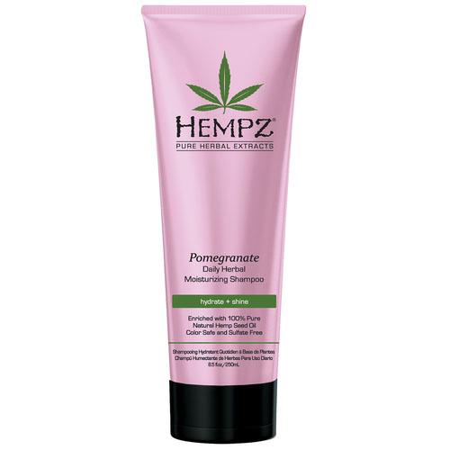 Hempz Шампунь растительный ганат легкой степени увлажнения Daily Herbal Moisturizing Pomegranate Shampoo 265 мл120-2409-03Растительный шампунь легкой степени увлажнения для частого использования. Густая пена шампуня мягко очищает волосы. Без сульфатов для максимального сохранения цвета окрашенных волос.
