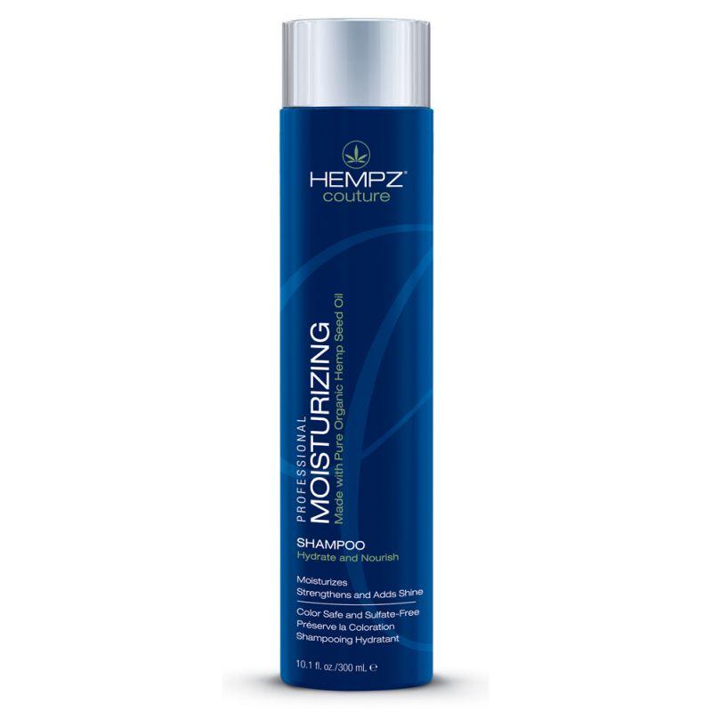 Hempz Шампунь увлажняющий Moisturizing Shampoo 300 мл676280011663Увлажняющий шампунь Moisturizing Shampoo делает волосы послушными и мягкими и наполняет их живительной силой. Шампунь на длительное время сохраняет цвет натуральных и окрашенных волос, защищает их от термического воздействия потоков горячего воздуха и солнечного излучения. Активно предотвращает вымывание цвета, блокирует действие жестких компонентов воды. Moisturizing Shampoo не содержит глютенов и парабенов и на 100% состоит из натуральных растительных компонентов. Состав активных компонентов: экстракт семян конопли, конопляное, кукурузное, кунжутное и соевое масло, гидролизированные пшеничные и соевые протеины, производная гуаровой смолы, экстракты настурции, крапивы, арники, розмарина и пантенол.