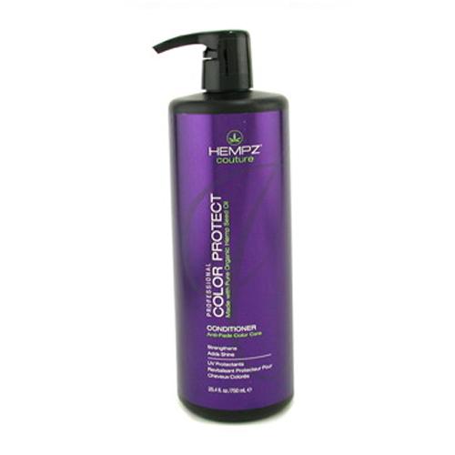 Hempz Шампунь защита цвета окрашенных волос Color Protect Shampoo 750 мл676280012264Шампунь для защиты цвета окрашенных волос Color Protect Shampoo не содержит сульфатов, обладает мягким и глубоким очищающим действием, на длительное время сохраняет и поддерживает цвет волос в первозданном виде, оберегает их от термического воздействия потоков горячего воздуха и солнечного излучения. Активно предотвращает вымывание цвета, блокирует действие жестких компонентов воды. Color Protect Shampoo не содержит глютенов и парабенов и на 100% состоит из натуральных растительных компонентов. Состав активных компонентов: аминокислоты, масло, протеины, смола и экстракт семян конопли, пантенол, масло подсолнечника, цитрусовая кислота, минеральные соли.