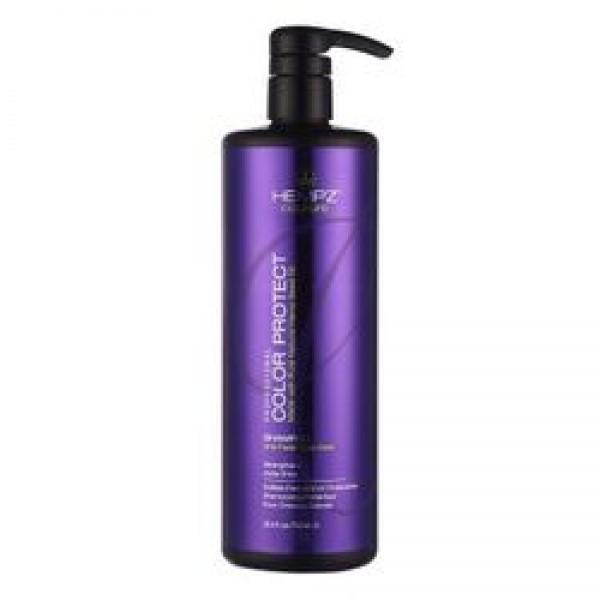 Hempz Кондиционер защита цвета окрашенных волос Color Protect Conditioner 750 мл676280012271Кондиционер для защиты цвета окрашенных волос Color Protect Conditioner эффективно следит за балансом влаги, надолго сохраняет и поддерживает цвет волос в первоначальном состоянии, оберегает их от термического воздействия потоков горячего воздуха и солнечного излучения. Активно предотвращает вымывание цвета, блокирует действие жестких компонентов воды. Color Protect Conditioner не содержит глютенов и парабенов и на 100% состоит из натуральных растительных компонентов. Состав активных компонетов: аминокислоты, масло, протеины, смола и экстракт семян конопли, пантенол, масло подсолнечника, аминокислоты шелка, минеральные соли.