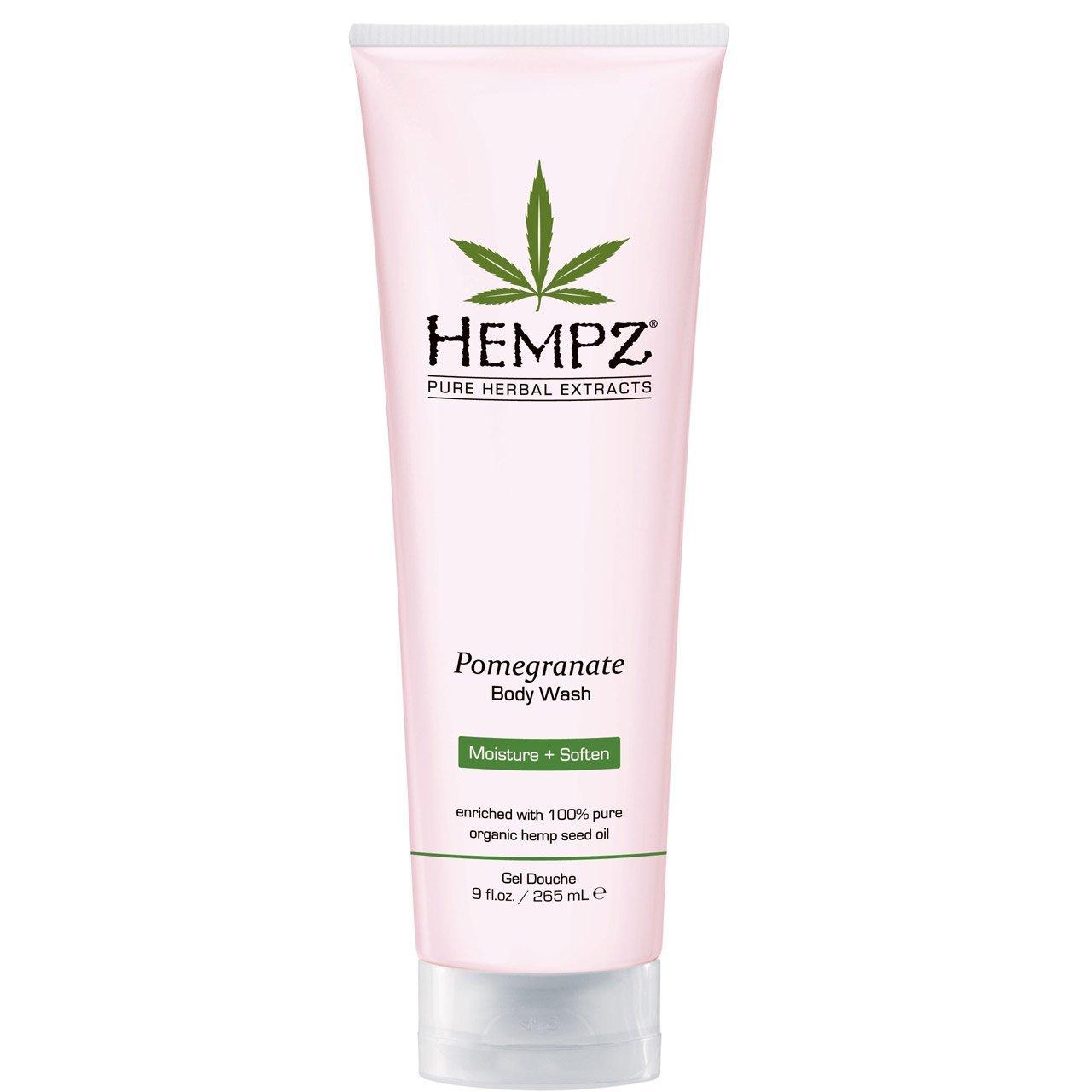 Hempz Гель для душа с ганатом Pomegranate Body Wash 250 мл676280012912/676280022119Гель для душа с гранатом предназначен для ежедневного использования и оказывает смягчающее и деликатное очищающее воздействие. В состав геля входят конопляное масло и экстракты семян конопли и граната, эффективно выравнивающие и поддерживающие гидролипидный баланс кожи.