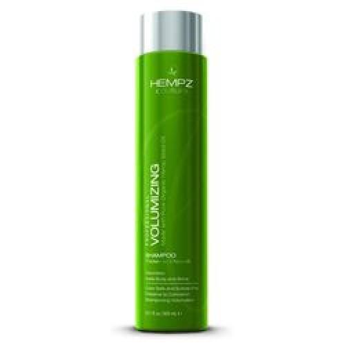 Hempz Шампунь для объема Volumizing Shampoo 300 мл676280013605Шампунь для придания объема Volumizing Shampoo - натуральное средство с мягким действием для ослабленных и тонких волос. В состав шампуня входят конопляное масло, содержащее свыше двадцати видов аминокислот, группа витаминов А, B1, B2, B3, B6, C, D, и E, а также пшеничные и соевые белки. Такой состав обеспечивает увеличение объема фибры волоса, что ведет к визуальному увеличению объема волос в целом и позволяет моделировать любой тип прически. Volumizing Shampoo обеспечивает действенную защиту волосам, оберегая их от негативных внешних воздействий, и стимулирует прикорневую зону, ускоряя рост новых волос. Эффект укрепления волосяной кутикулы будет более устойчивым, если после применения шампуня использовать кондиционер для придания объёма Volumizing Conditioner. Состав активных компонентов: экстракт и масло конопляных семян, гидролизированные соевые и пшеничные протеины, пантенол. С ароматом пряных трав и пачули.