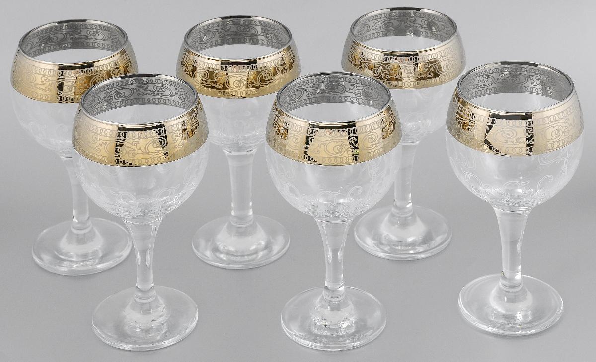 Набор бокалов для вина Мусатов Венеция, 260 мл, 6 шт411/32Набор бокалов для вина Мусатов Венеция изготовлен из натрий-кальций-силикатного стекла. Набор состоит из 6 бокалов, выполненных в элегантном дизайне. Набор предназначен для подачи вина. Набор бокалов Мусатов Венеция прекрасно оформит праздничный стол и создаст приятную атмосферу за романтическим ужином. Такой набор также станет хорошим подарком к любому случаю. Можно мыть в посудомоечной машине. Диаметр бокала (по верхнему краю): 6,5 см. Высота бокала: 16 см. Диаметр основания бокала: 6,5 см.