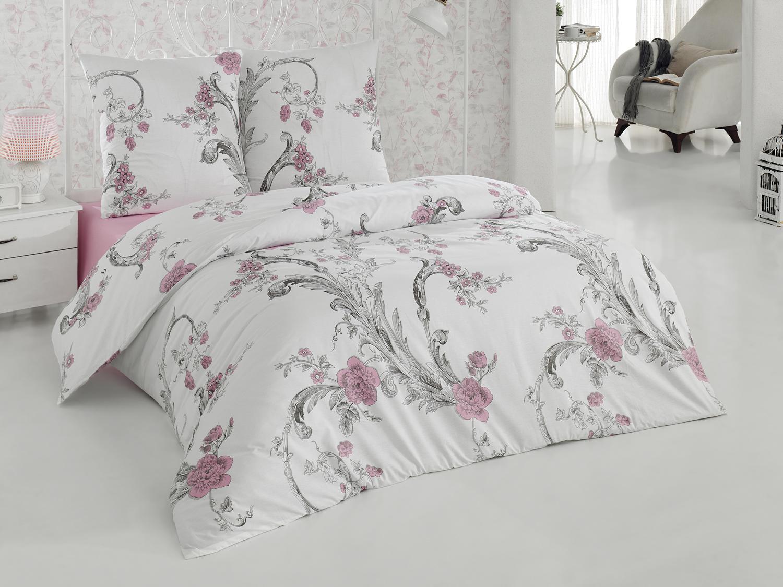 Комплект белья Tete-a-Tete Лаура, 1,5-спальный, наволочки 70х70, цвет: белый. К-8062п + простыня в подарокК-8062п