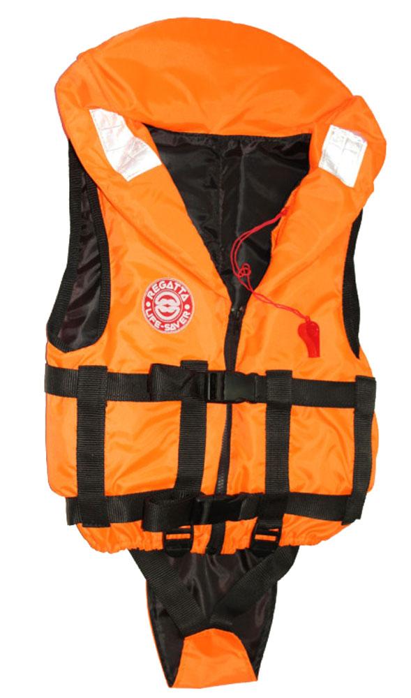 Жилет спасательный Плавсервис Baby, цвет: оранжевый. Размер 40-42, вес до 40 кг