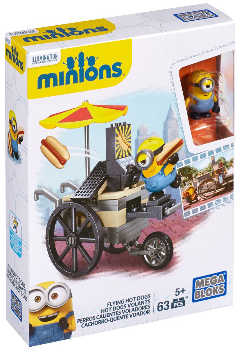 Mega Bloks Minions Конструктор Летающие хот-доги
