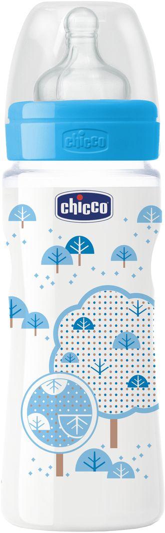 Бутылочка Chicco Well-Being Boy от 4 месяцев 330 мл
