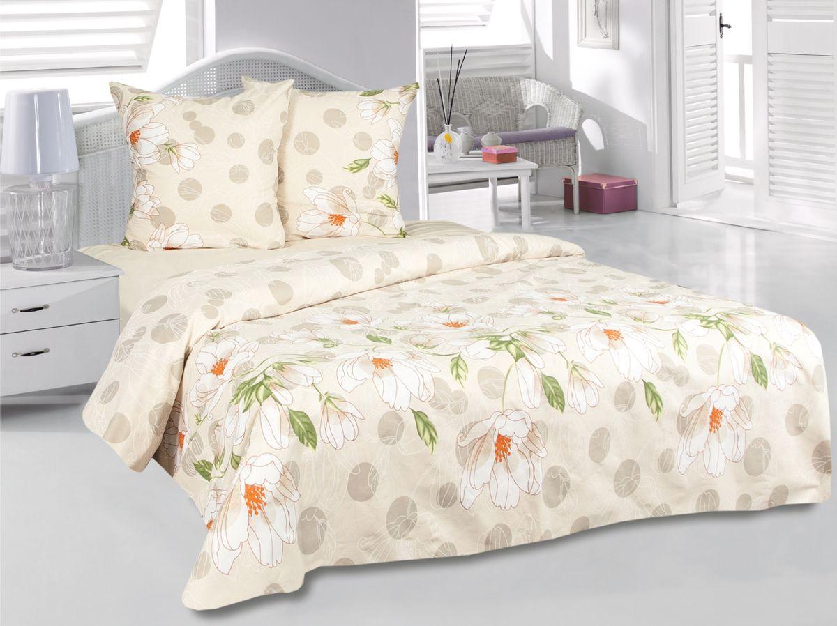 Комплект белья Tete-a-Tete Аврора, 1,5-спальный, наволочки 70х70, цвет: желтый. к-8084п + простыня в подарокк-8084п