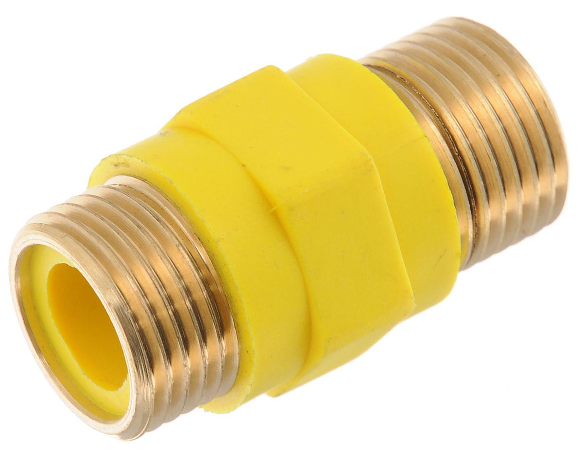 Изолятор диэлектрический для газа Tuboflex, 1/2. ИС.130479ИС.130479Диэлектрический изолятор Tuboflex исключает протекание через газопровод токов, утечки при возникновении электропотенциала на корпусе электрифицированного газового прибора (плиты, котла, бойлера и прочего), а также защищает электронные части газовых приборов. Диэлектрические вставки предназначены для монтажа на газопроводы, транспортирующие природный газ по ГОСТ 5542-87 и сжиженный газ по ГОСТ 20448-90, ГОСТ Р 52087-2003. В качестве электроизолятора применяется высококачественный стеклонаполненный полиамид. Стеклонаполненные полиамиды - это композитные материалы, в состав которых помимо полиамидной смолы входят структурированные стеклянные нити. Они отличаются повышенной прочностью, устойчивостью к ударным нагрузкам, химической инертностью, что делает их масло и бензостойкими. Также стеклонаполненные полиамиды характеризуются хорошими диэлектрическими свойствами. Отсутствие диэлектрической вставки может стать причиной утечки газа в следствии прожига гибкой подводки...