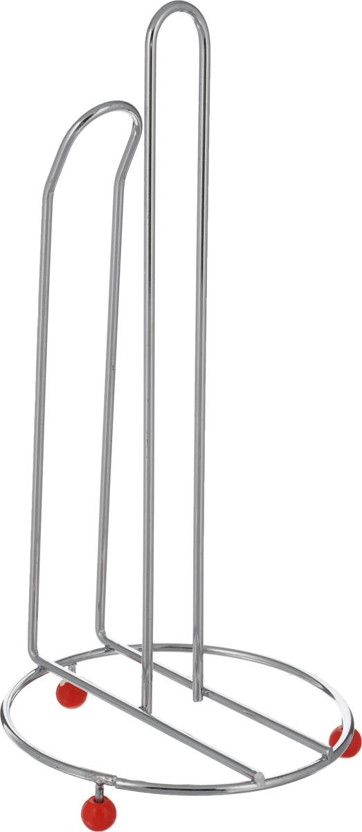 Держатель для бумажных полотенец Mayer & Boch, высота 31 см2962Держатель для бумажных полотенец Mayer & Boch выполнена из высококачественной нержавеющей стали. Основание на резиновых ножках обеспечивает изделию устойчивость. Подставка будет идеально смотреться в интерьере кухни или ванной. Высота подставки: 31 см. Диаметр основания: 15 см.
