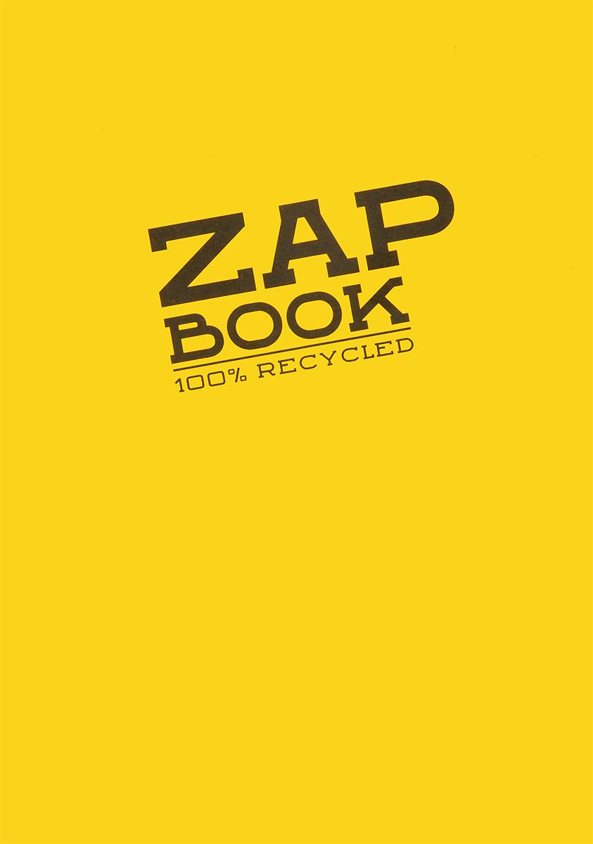 Блокнот для набросков Clairefontaine Zap Book, цвет: желтый, 160 листов3355Блокнот для набросков Clairefontaine Zap Book, сшитый на склейку по длинной стороне, содержит 160 листов, выполненных из переработанной бело-серой бумаги. Листы не разлинованы. Обложка выполнена из картона. Блокнот идеален для рисования и письма, также подойдет для эскизов и набросков.