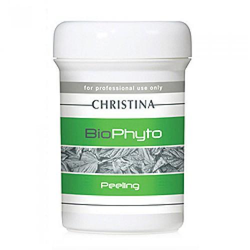 Christina Био-фито-пилинг для всех типов кожи Bio Phyto Peeling 250 млBPP250Био-фито-пилинг Christina Bio Phyto Peeling для всех типов кожи. Эта пилинг-маска разностороннего действия, может применяться в сочетании со многими средствами лечебной косметики. В основе препарата лежат альфа и бетагидроксильные кислоты, витаминный комплекс, экстракты лекарственных растений, которые проявляют биологическую активность, участвуя в минеральном и липидном обменах кожи, регулируя проницаемость тканей. Одновременно воздействует на кожу в 6 направлениях: Улучшает кровообращение, рассасывает инфильтраты (масло чилийского перца, экстракт горчицы, витамины группы В). Дает хороший результат при бледной, уставшей коже. Усиливает эпителизацию и регенерацию (экстракт мимозы, аллантоин, фруктовые кислоты). За счет активного обновления кожи может наблюдаться легкое шелушение. Оказывает охлаждающее воздействие и сужает расширенные капилляры (экстракт гамамелиса, мяты). Глубоко очищает поры кожи, регулирует функцию сальных желез (бета- и...